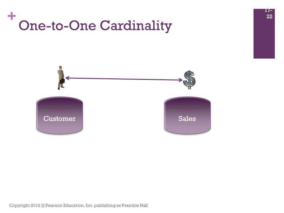 One-to-One Cardinality