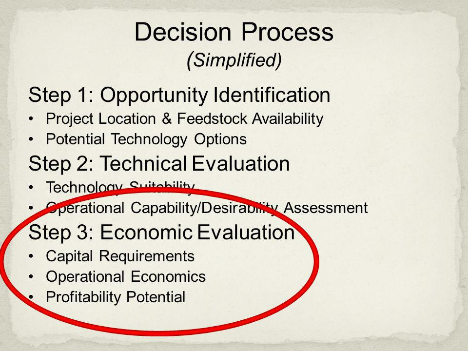 Decision Process (Simplified)