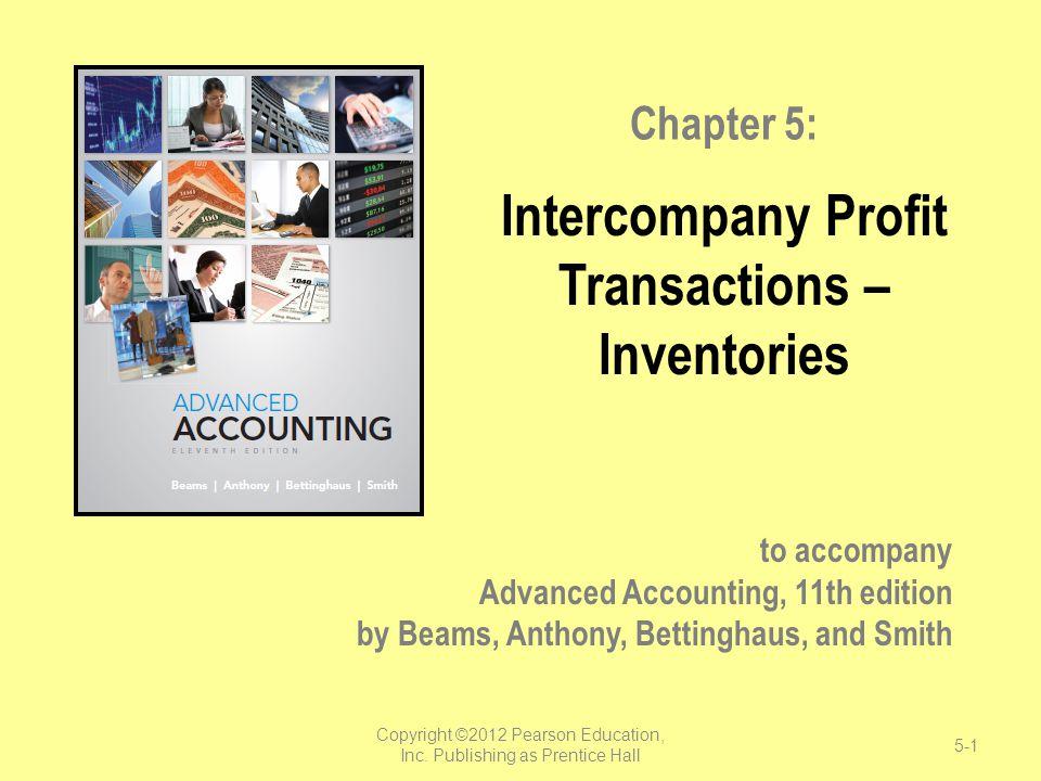 Intercompany Profit Transactions – Inventories