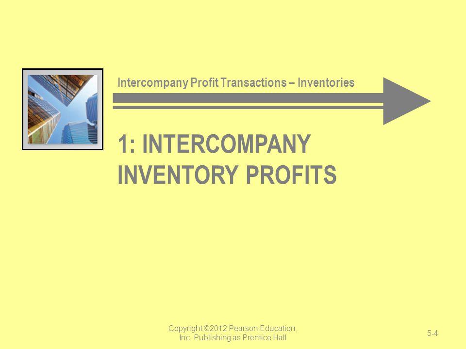 1: Intercompany Inventory Profits