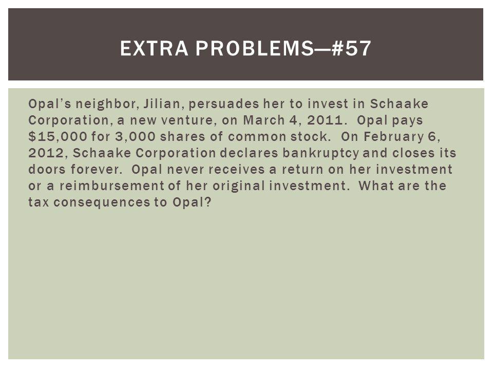 Extra problems—#57