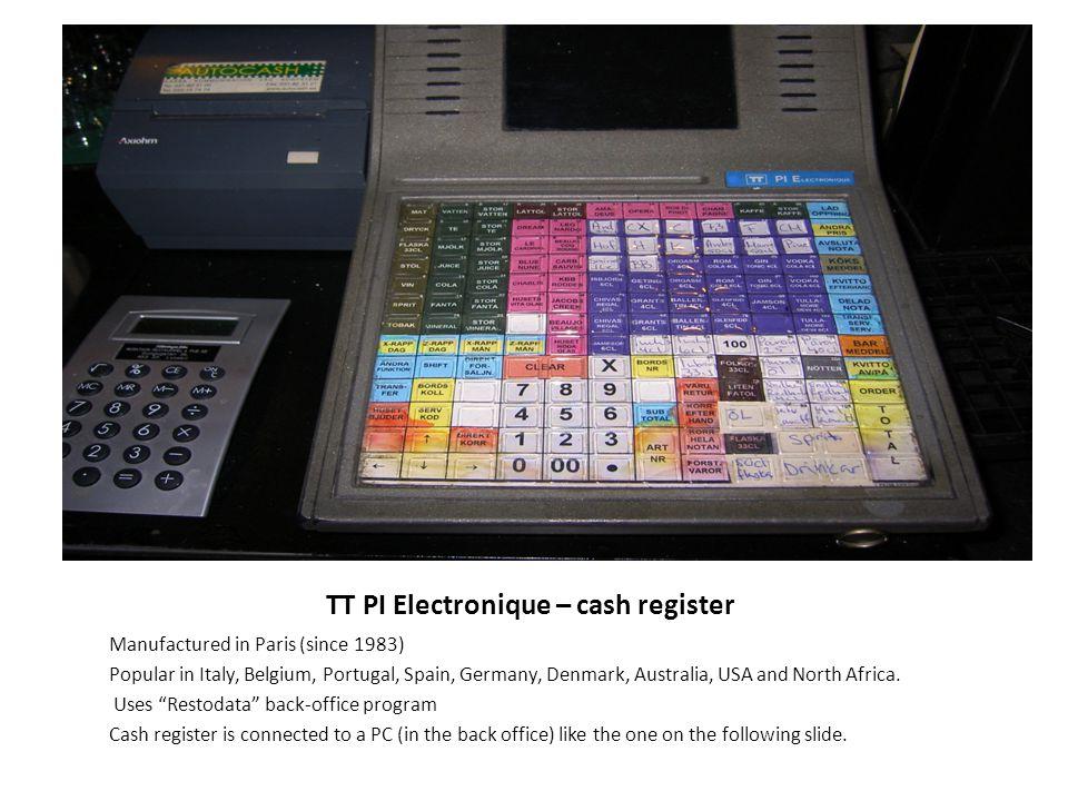 TT PI Electronique – cash register