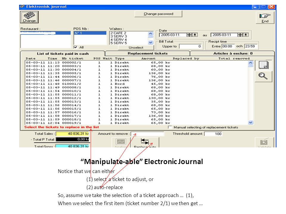 Manipulate-able Electronic Journal