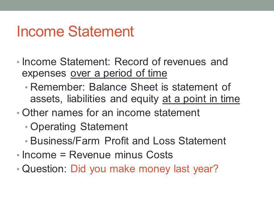 business plan financials example income statement financial how to
