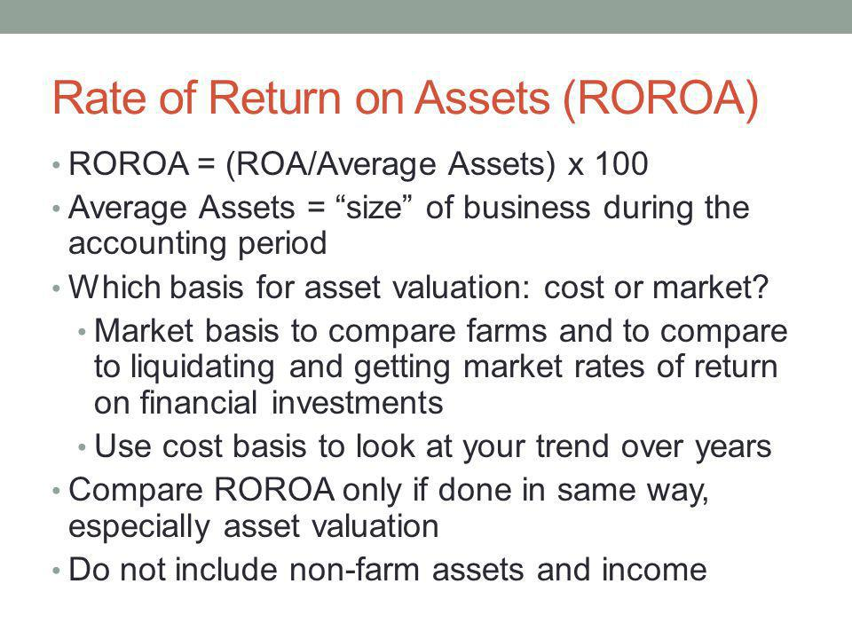 how to calculate return on average assets