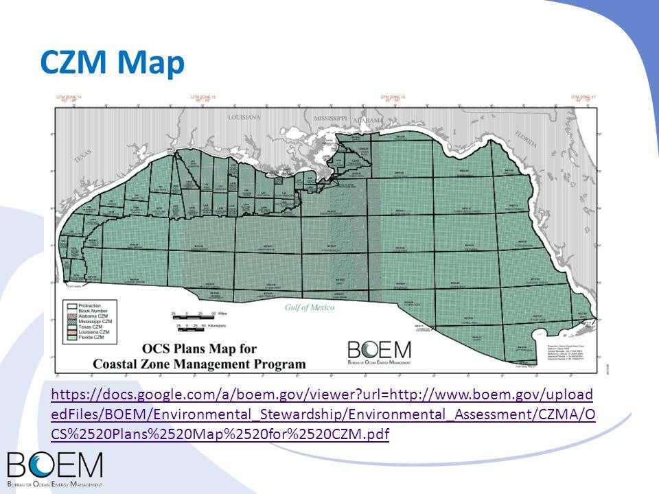 CZM Map