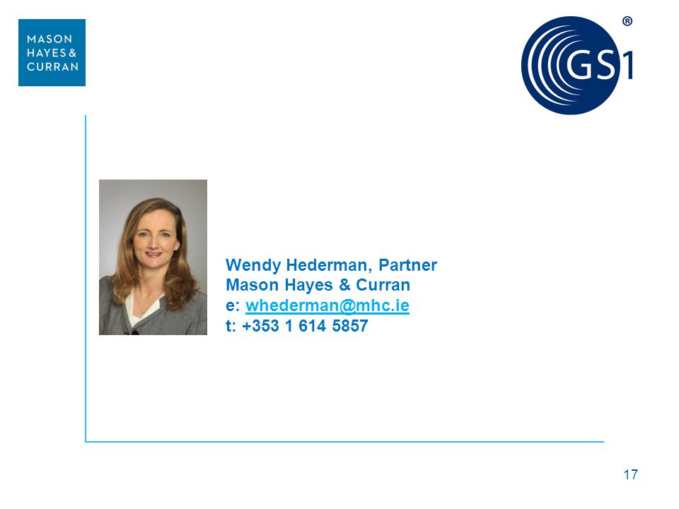 Wendy Hederman, Partner