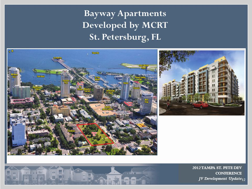 Bayway Apartments Developed by MCRT St. Petersburg, FL