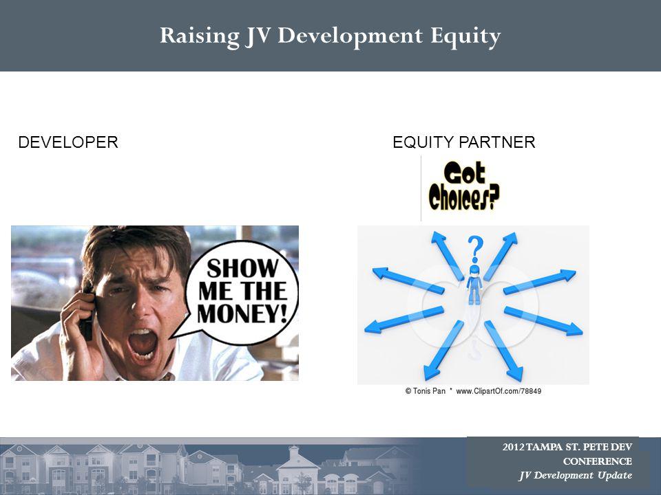 Raising JV Development Equity