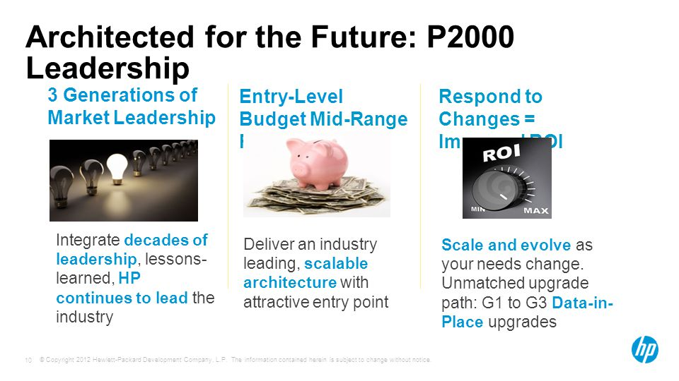 Architected for the Future: P2000 Leadership