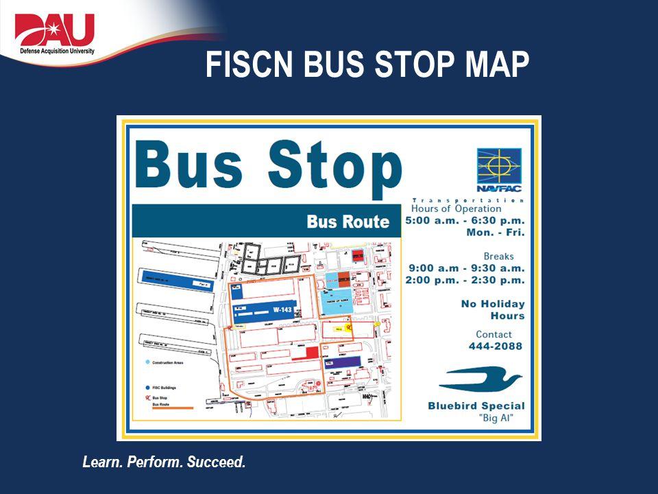 FISCN BUS STOP MAP