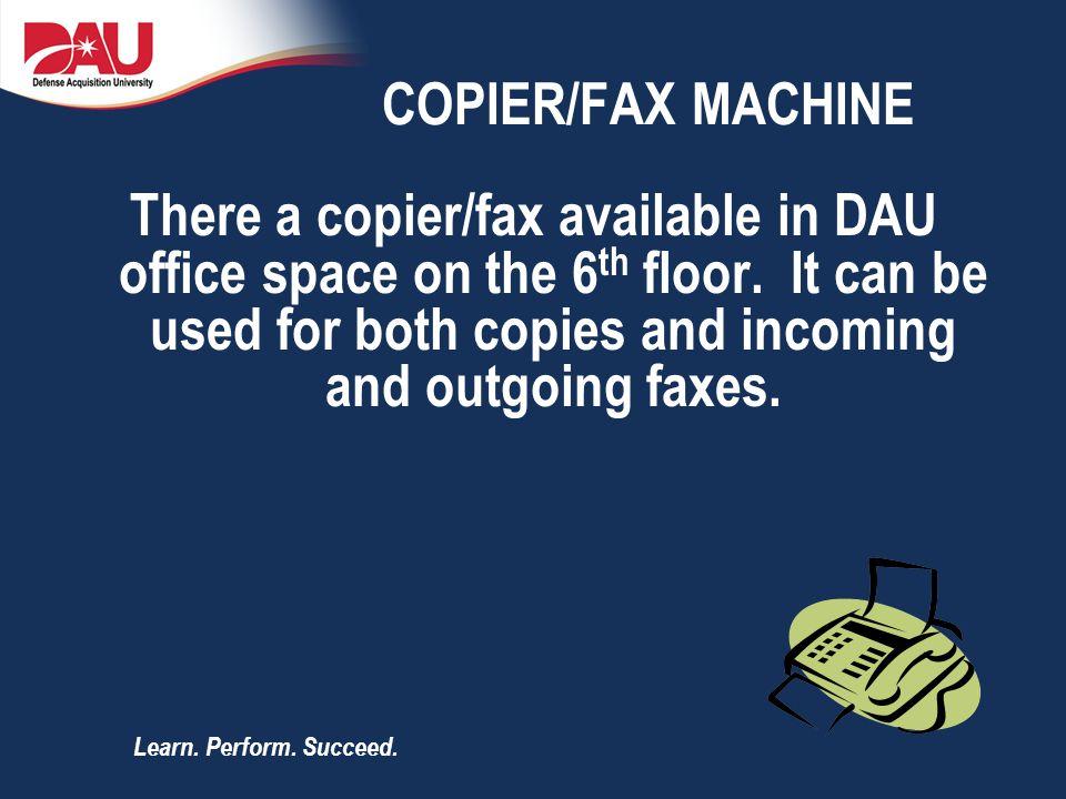 COPIER/FAX MACHINE