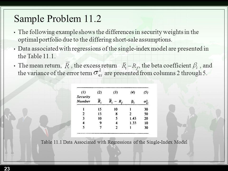 Sample Problem 11.2