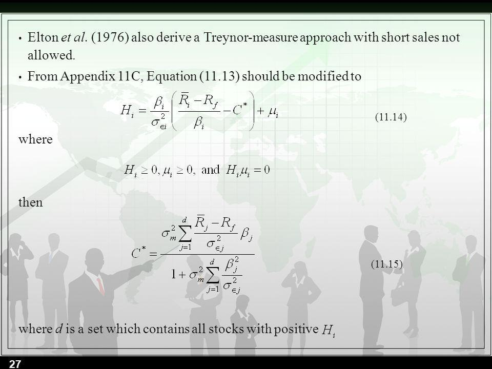 From Appendix 11C, Equation (11.13) should be modified to