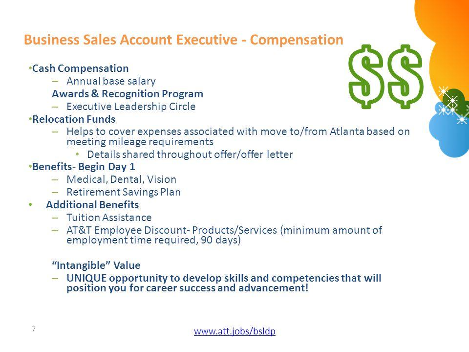 Business Sales Account Executive - Compensation