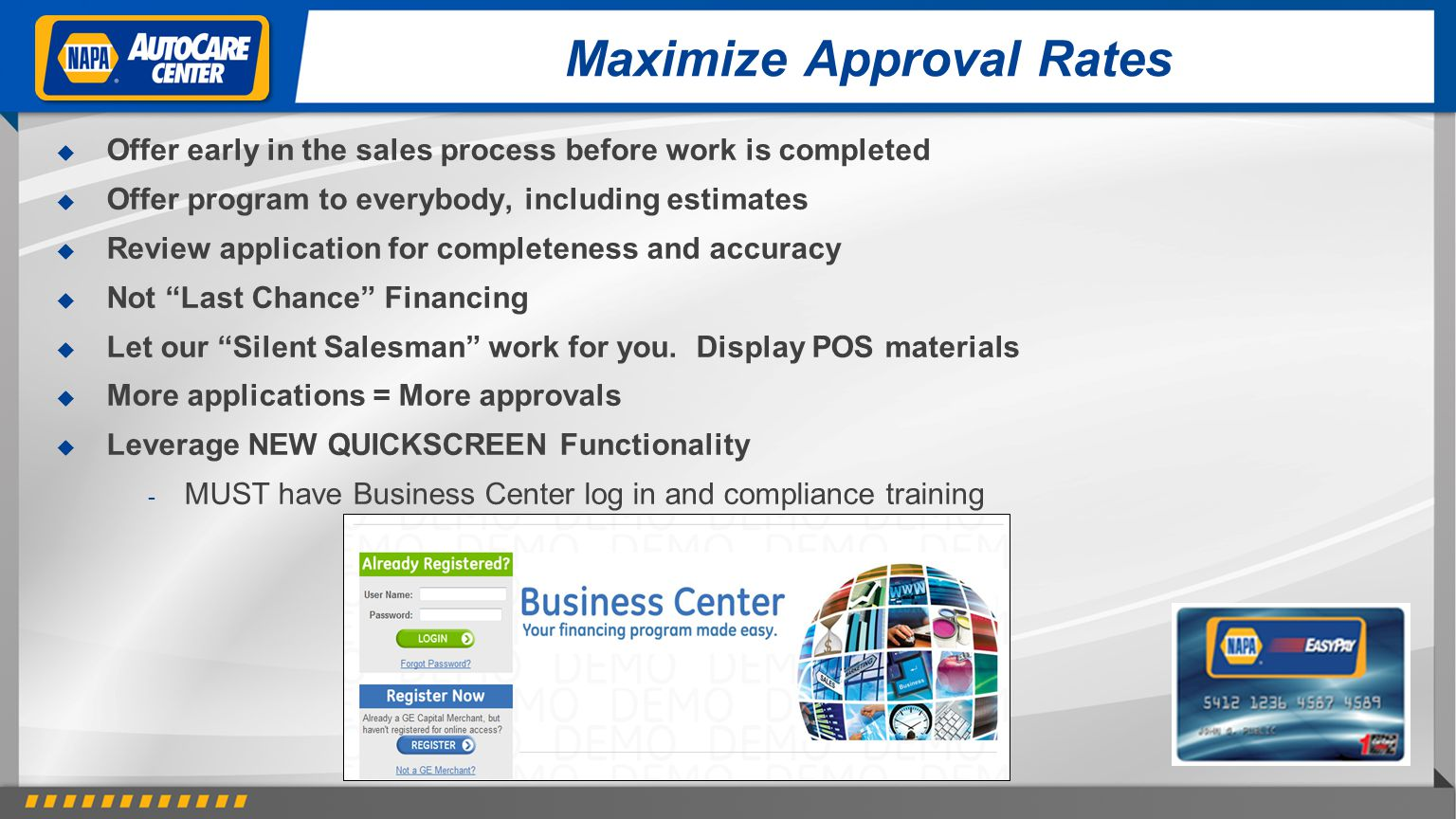 Maximize Approval Rates