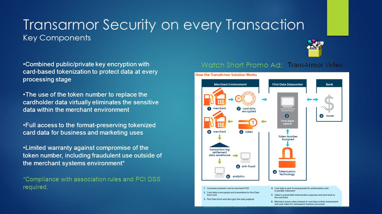 Transarmor Security on every Transaction Key Components