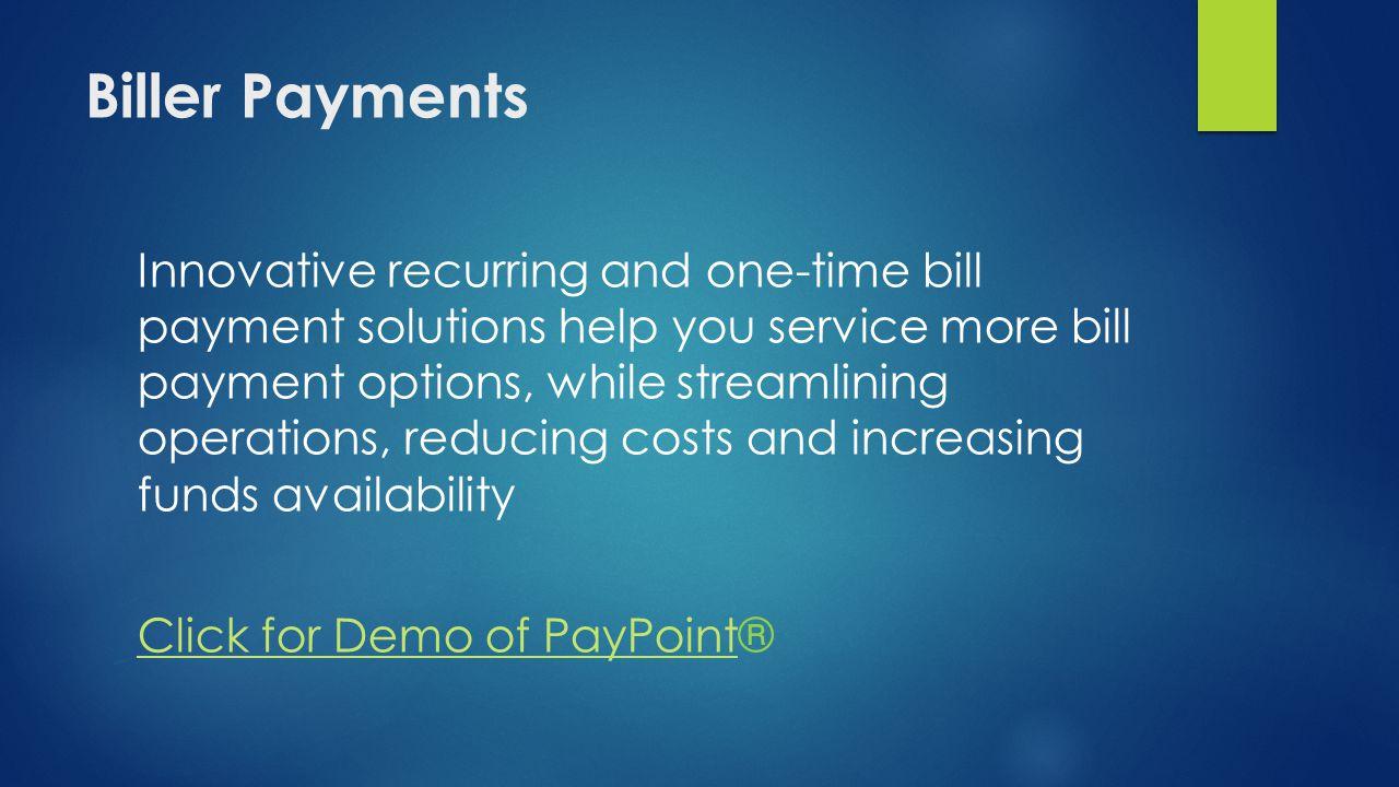Biller Payments