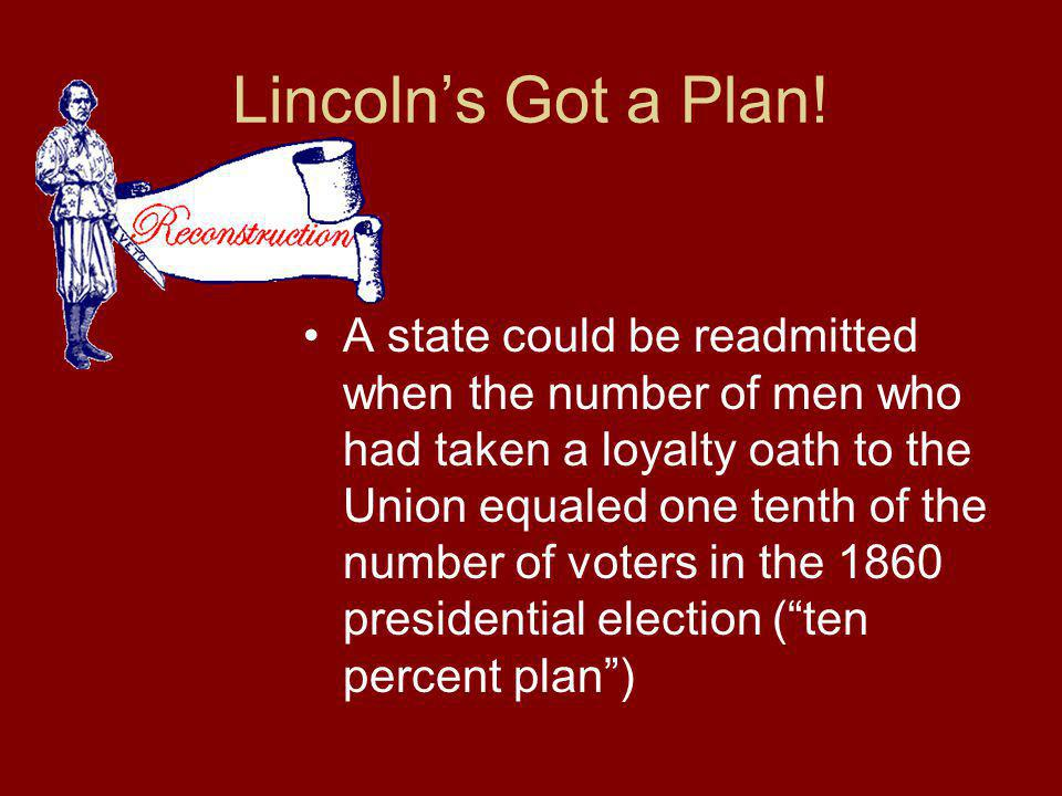 Lincoln's Got a Plan!