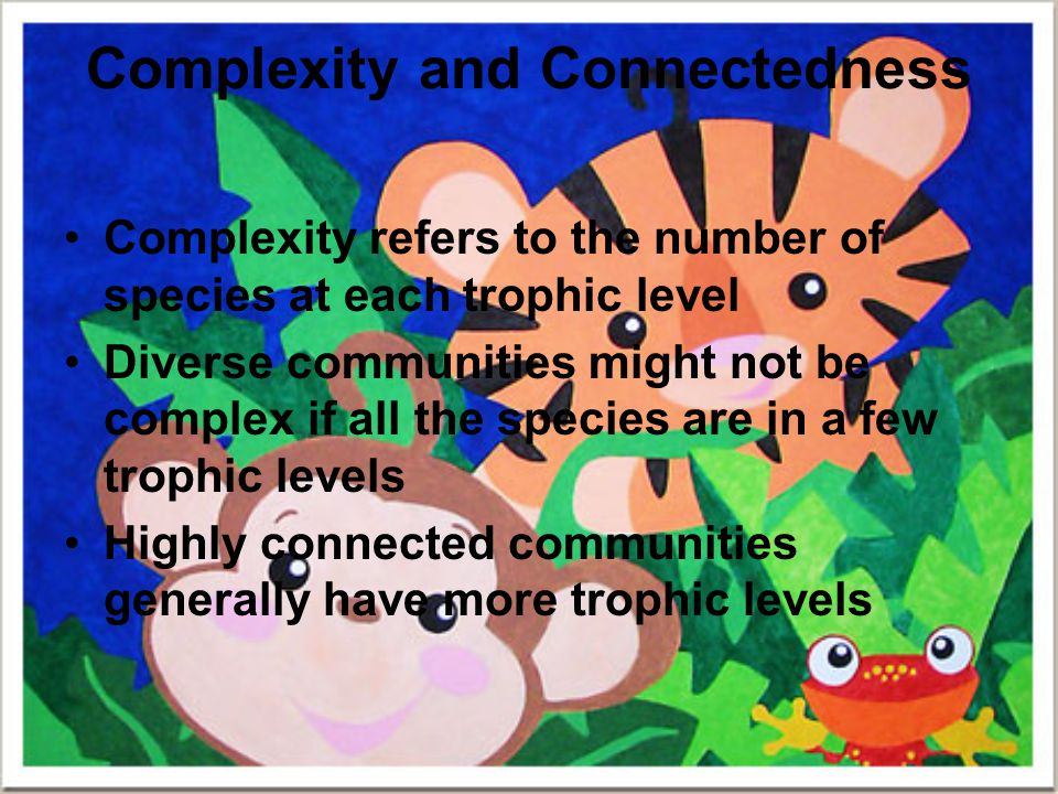 Complexity and Connectedness