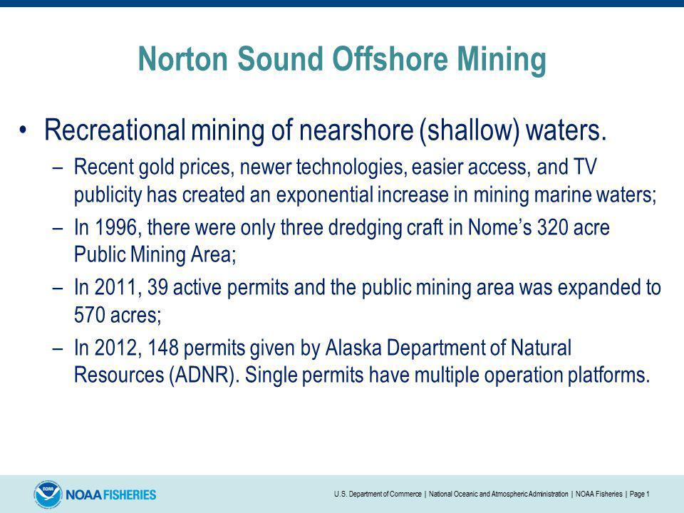 Norton Sound Offshore Mining