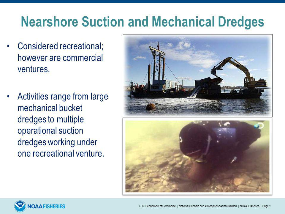 Nearshore Suction and Mechanical Dredges