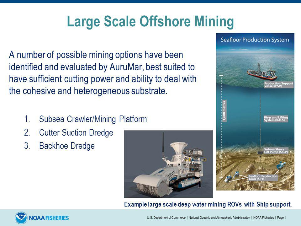 Large Scale Offshore Mining