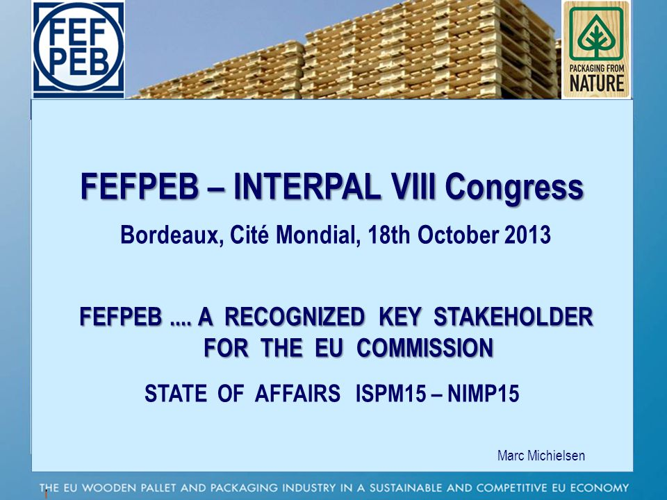 FEFPEB – INTERPAL VIII Congress