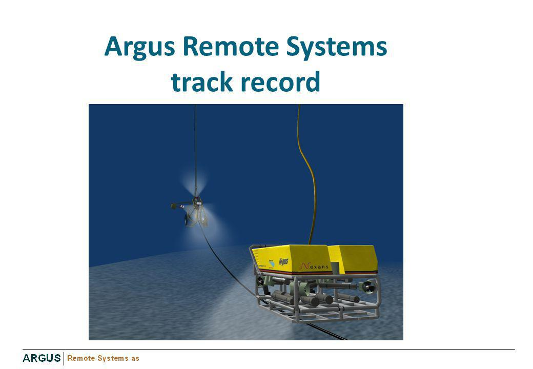 Argus Remote Systems track record