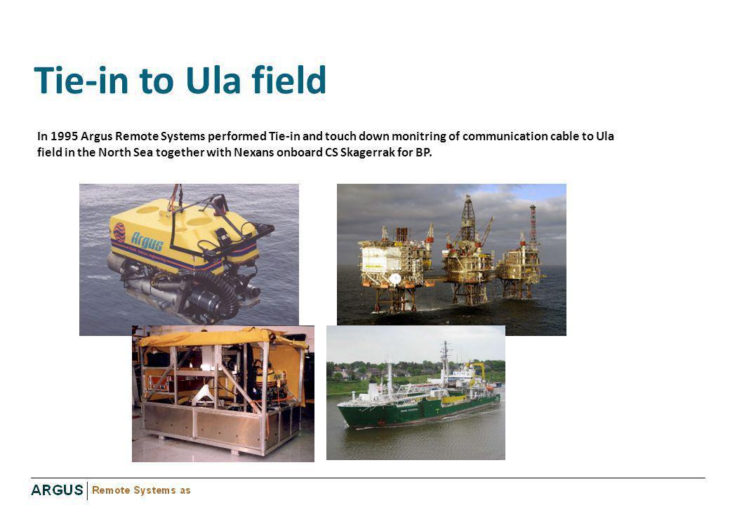Tie-in to Ula field