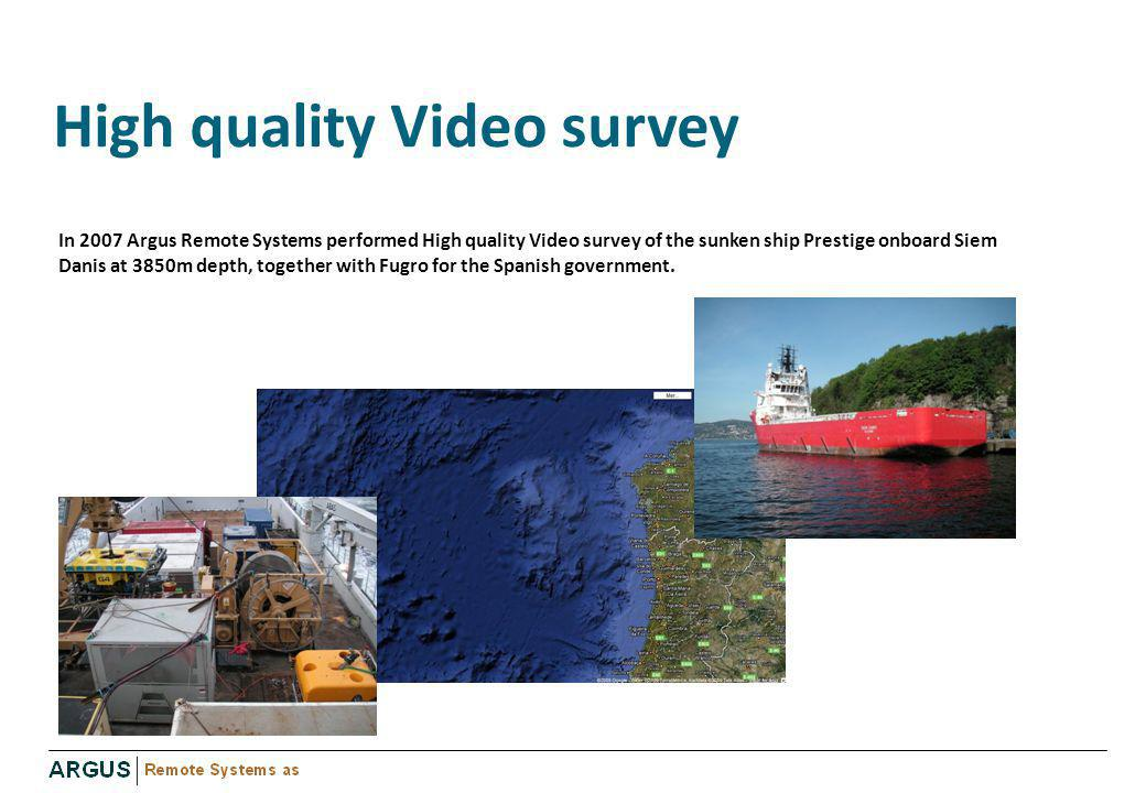 High quality Video survey