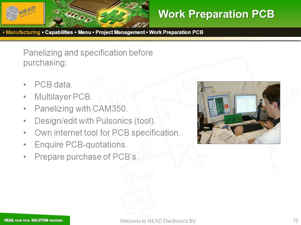 Work Preparation PCB Panelizing and specification before purchasing: