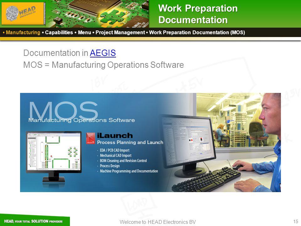 Work Preparation Documentation