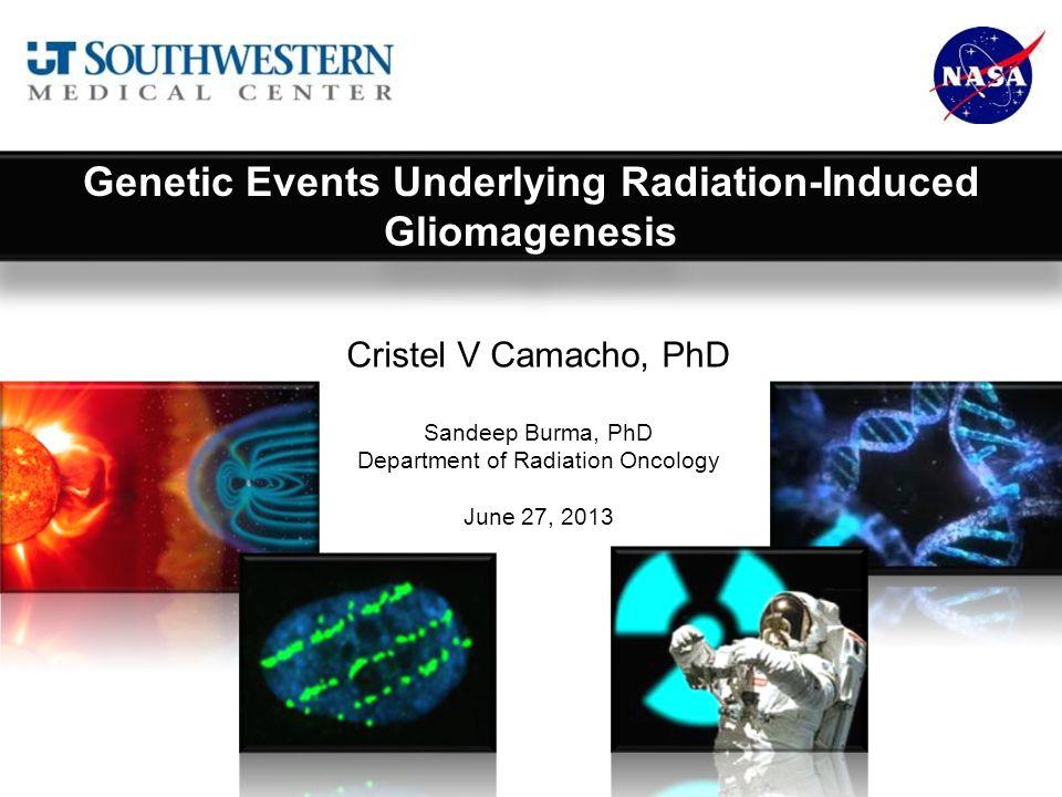 Genetic Events Underlying Radiation-Induced Gliomagenesis