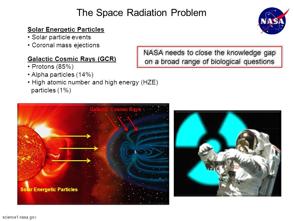 The Space Radiation Problem