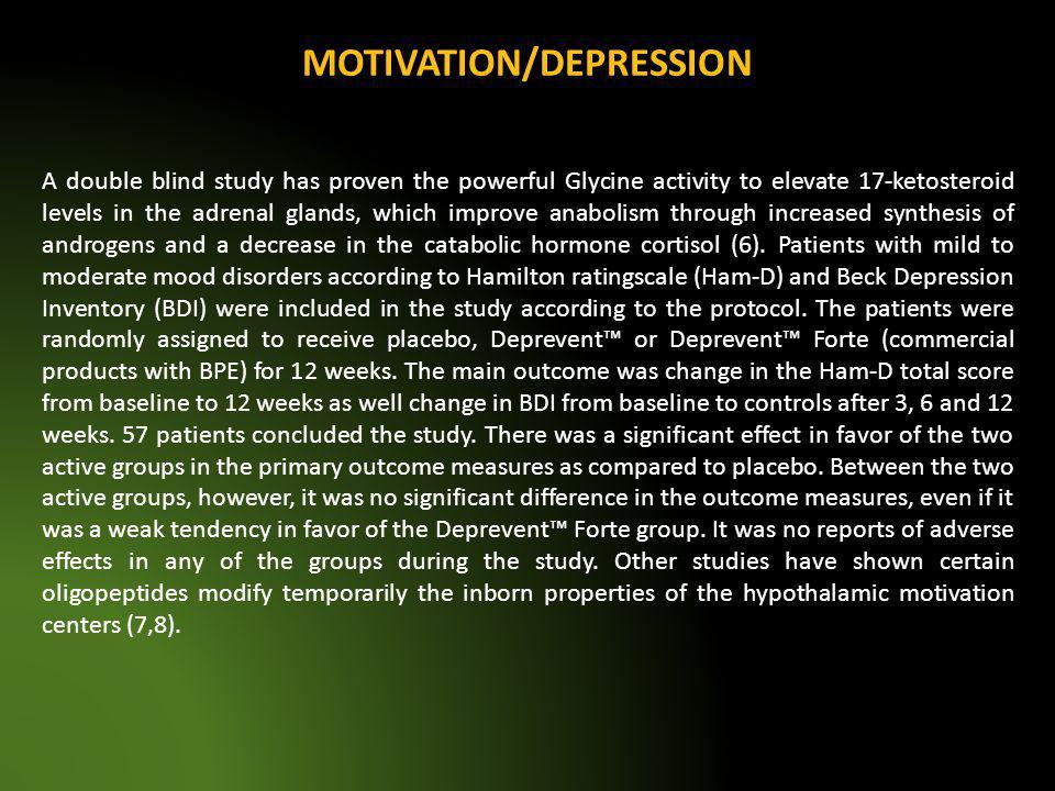 MOTIVATION/DEPRESSION