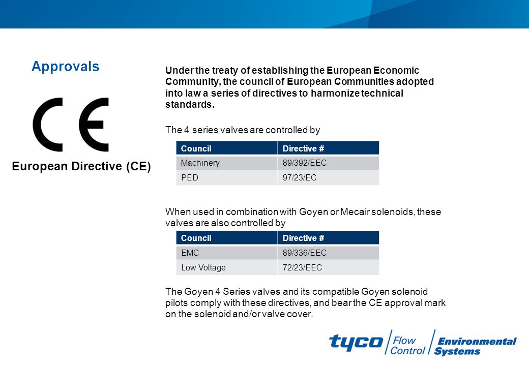 European Directive (CE)