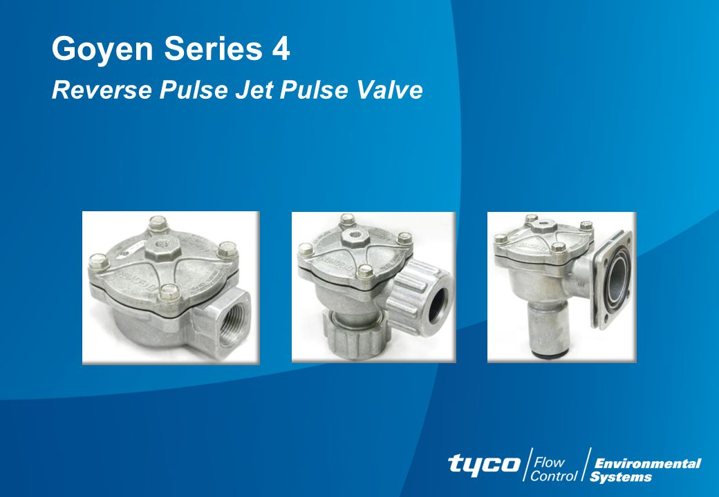 Goyen Series 4 Reverse Pulse Jet Pulse Valve
