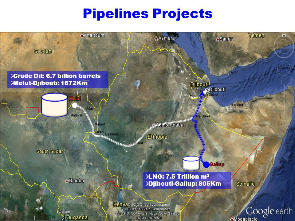 Pipelines Projects Crude Oil: 6.7 billion barrels