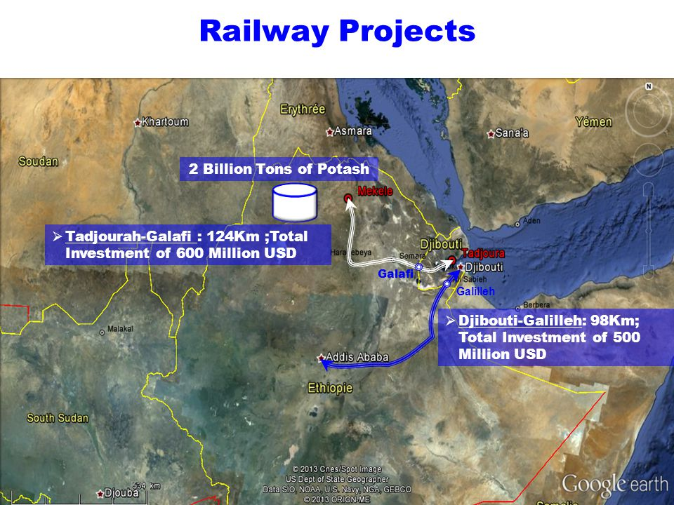 Railway Projects 2 Billion Tons of Potash