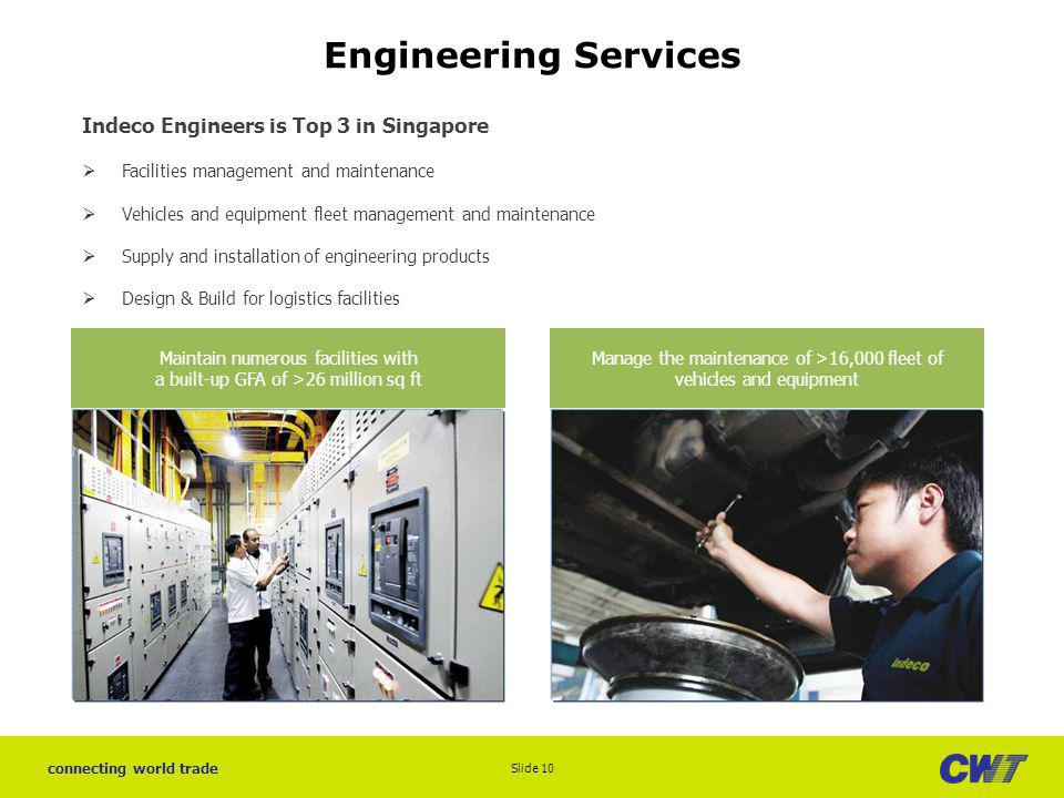Engineering Services Indeco Engineers is Top 3 in Singapore