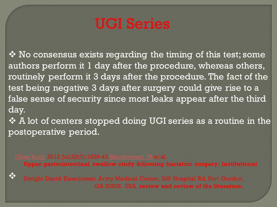 UGI Series