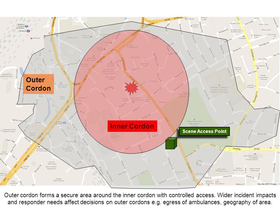 Outer Cordon Inner Cordon