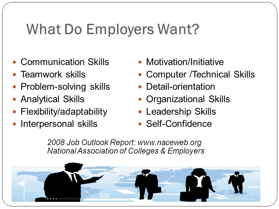 What Do Employers Want Communication Skills Teamwork skills