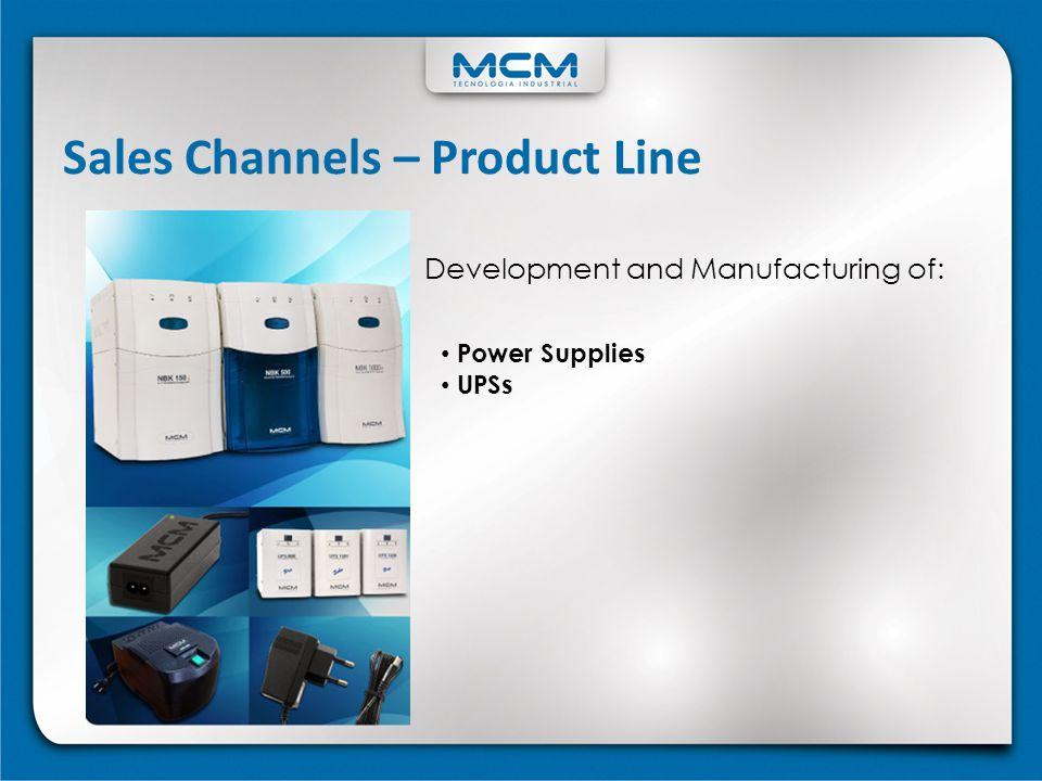 Sales Channels – Product Line