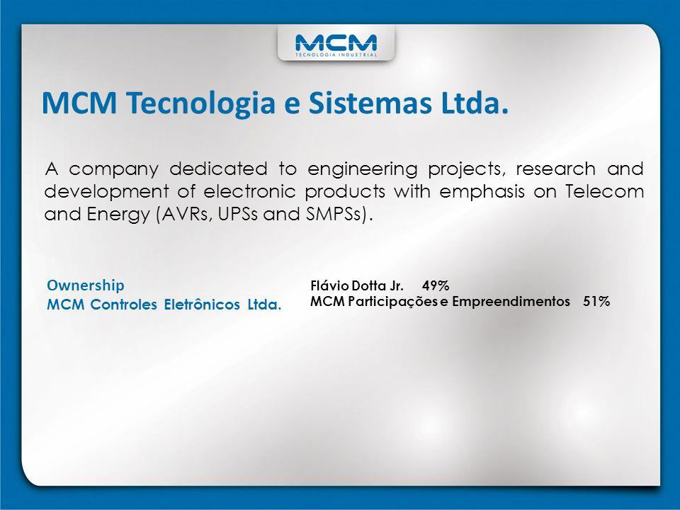 MCM Tecnologia e Sistemas Ltda.