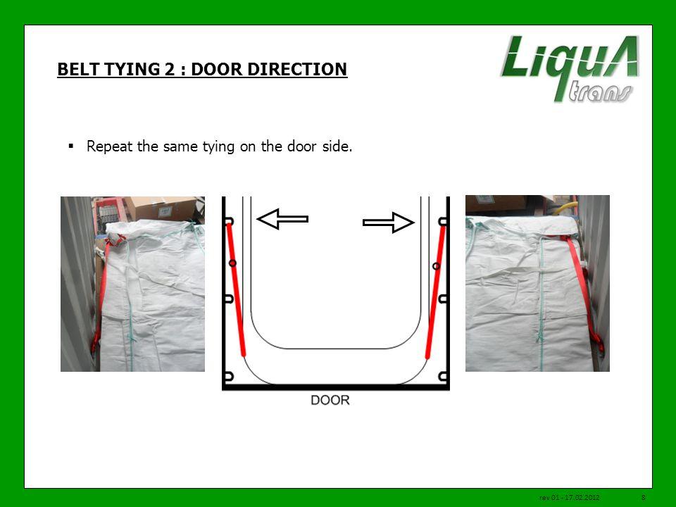 BELT TYING 2 : DOOR DIRECTION