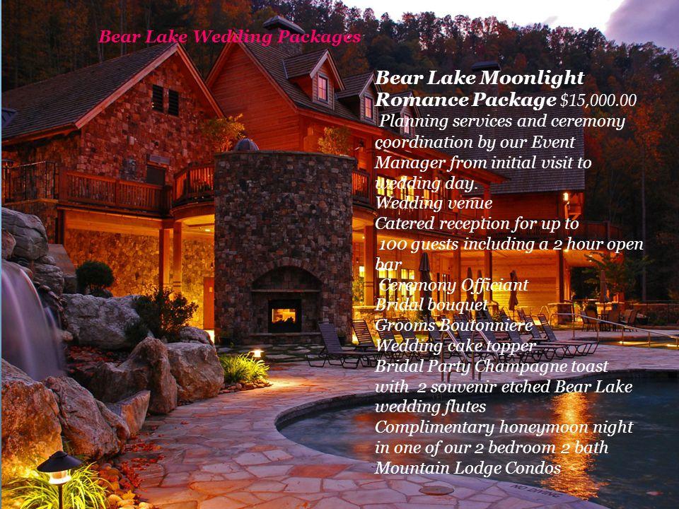 Bear Lake Wedding Packages
