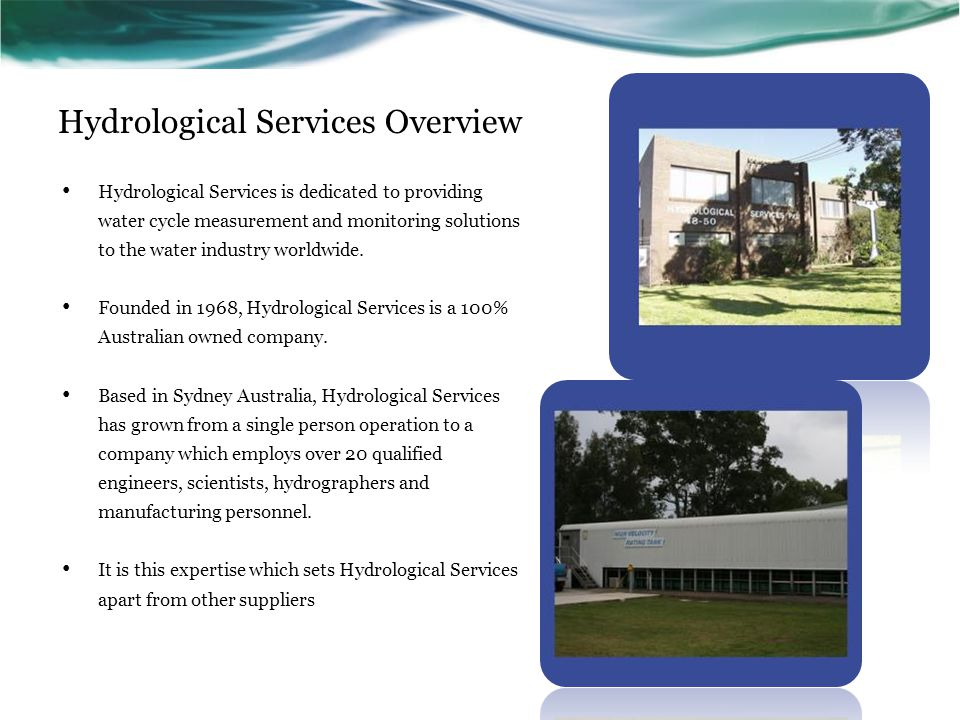 Hydrological Services Overview
