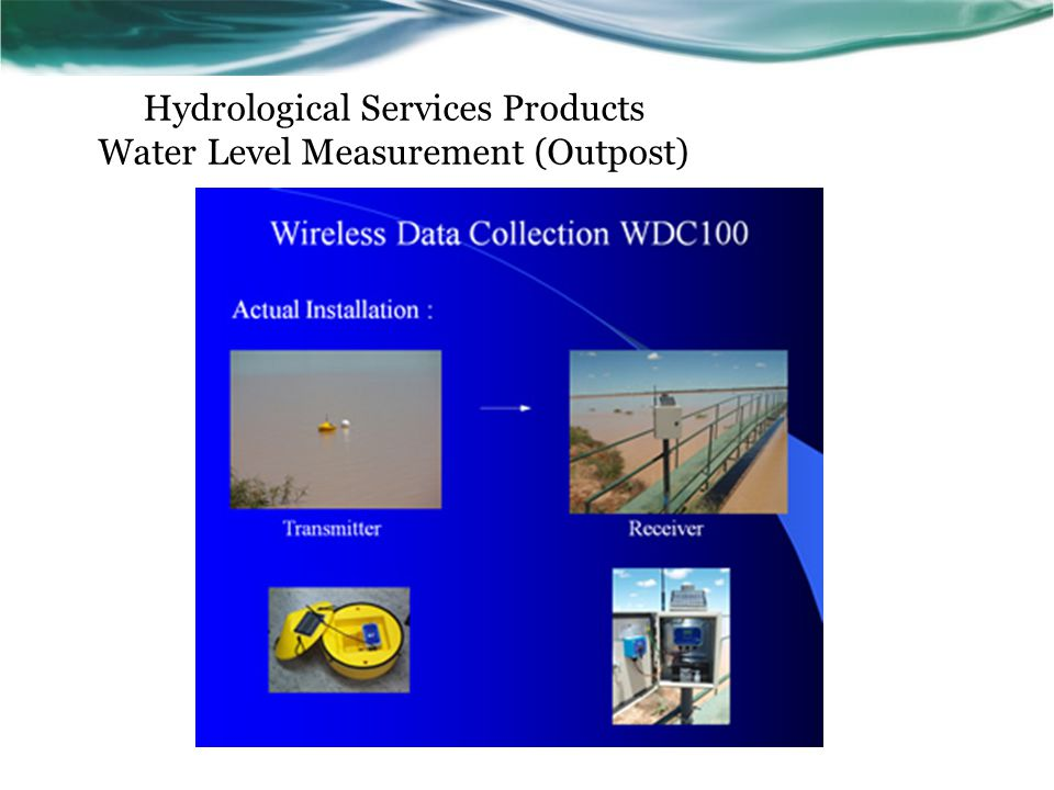 Hydrological Services Products Water Level Measurement (Outpost)